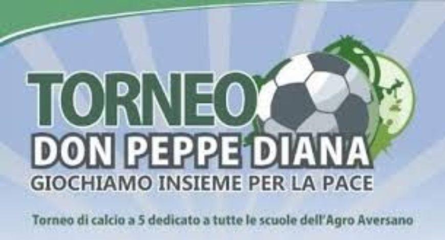 """""""Torneo Don Peppe Diana"""": Giochiamo insieme per la pace"""