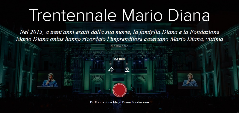 Trentennale Mario Diana