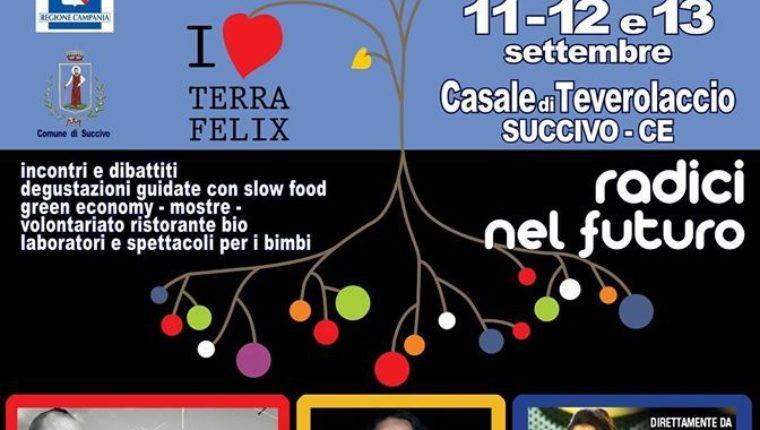 """Radici nel Futuro: a Succivo la VI edizione di """"FestAmbiente Terra Felix"""""""