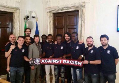 RFC Lions: insieme contro il razzismo