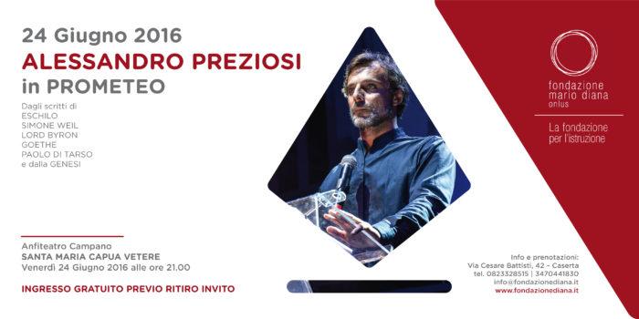 Alessandro Preziosi in PROMETEO