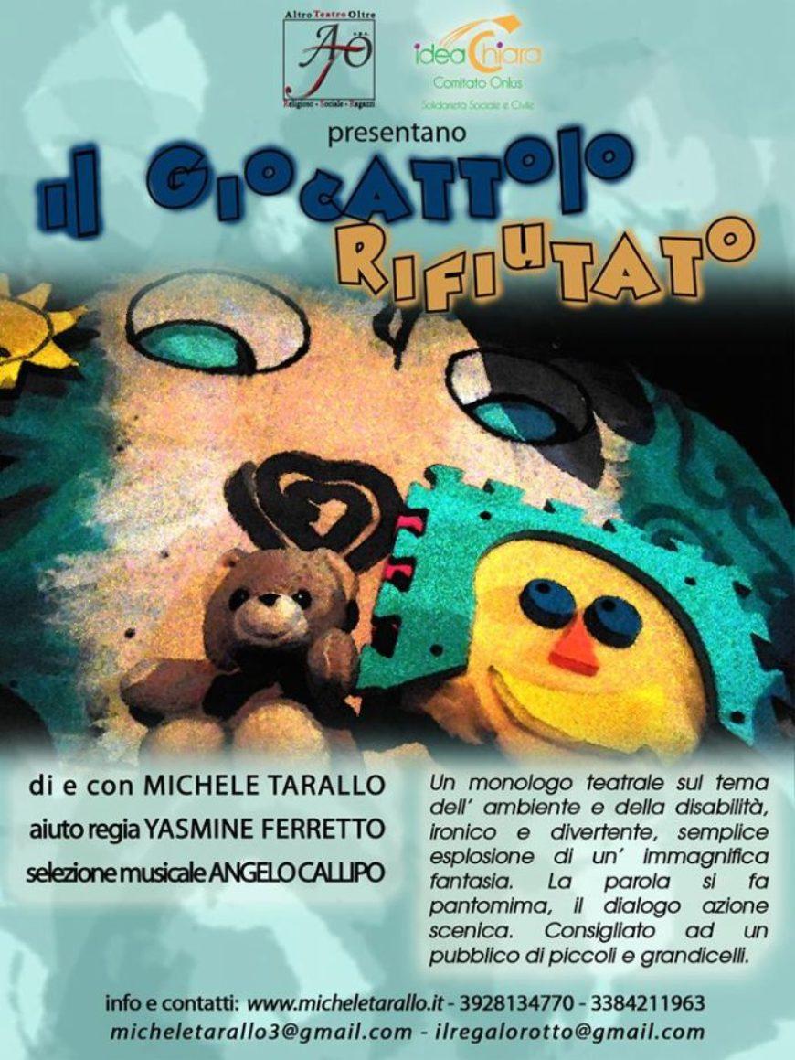 """""""Il GIOCATTOLO RIFIUTATO"""": parlare ai bambini di ambiente e disabilità attraverso il Teatro"""