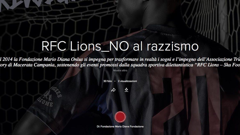 RFC Lions_NO al razzismo
