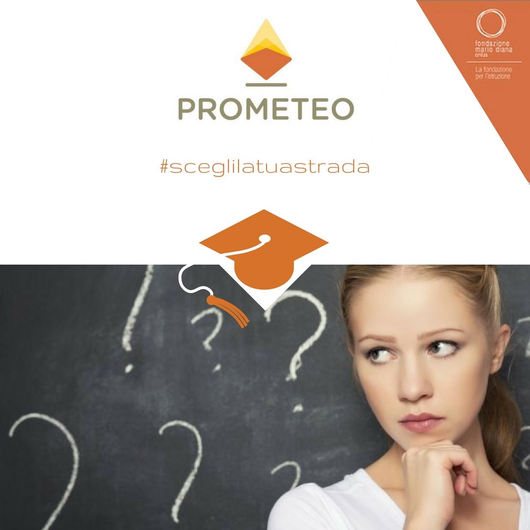 Scegli la tua strada: PROMETEO accanto ai giovani nella scelta dell'Università