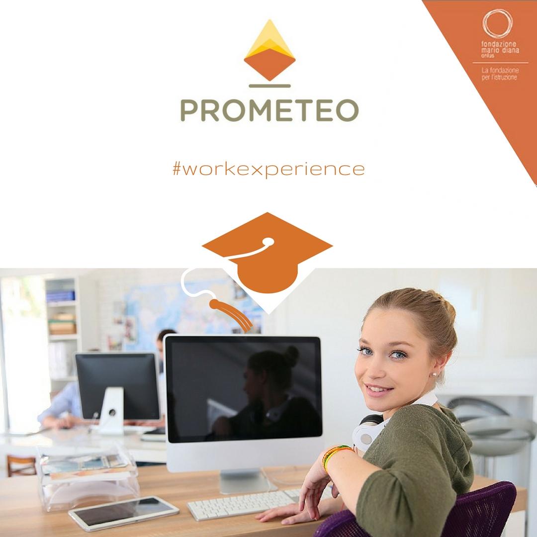 Work experience: un network di imprese a sostegno di PROMETEO