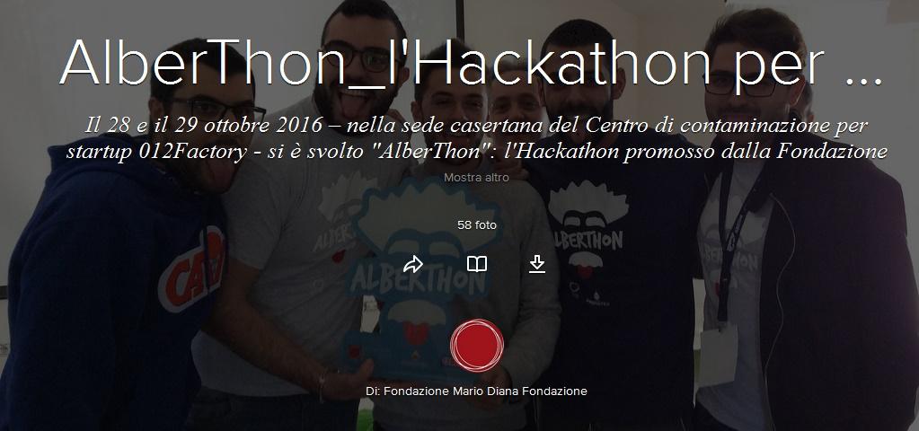 AlberThon, a Caserta l'Hackathon per l'istruzione dei giovani talenti