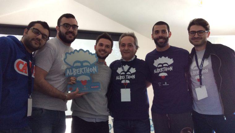 """""""AlberThon"""": I Disagiati vincono l'Hackathon della Fondazione Mario Diana"""
