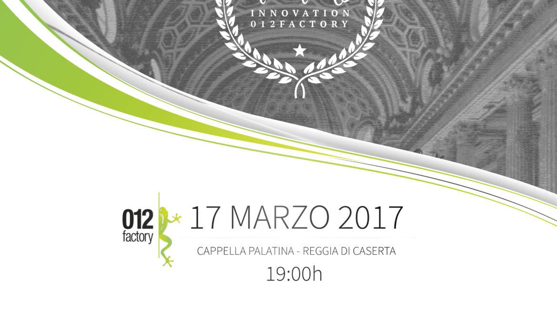 """Premio """"Mario Diana"""" dell'Academy 012Factory"""