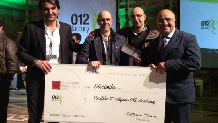 """WORK FOR TRADE"" vince il Premio ""Mario Diana"" della 3^ Academy 012Factory"