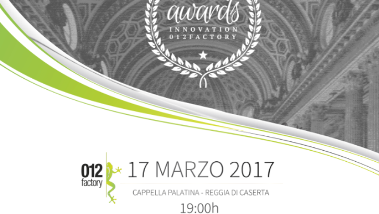 "Premio ""Mario Diana"" Award Innovation 2017"