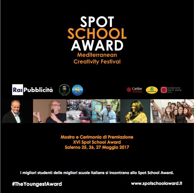XVI Spot School Award, a Salerno la cerimonia di premiazione
