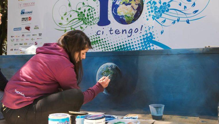 """""""Villaggio per la Terra"""", in 130.000 a Villa Borghese per dire #iocitengo"""