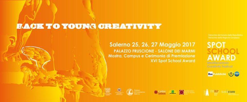 Young Creativity: dal 25 maggio la finale del XVI Spot School Award