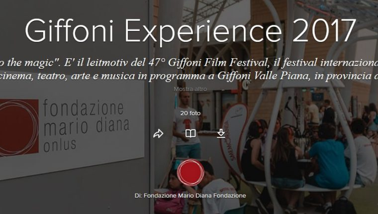 """Into the magic"", insieme al 47° Giffoni Film Festival"