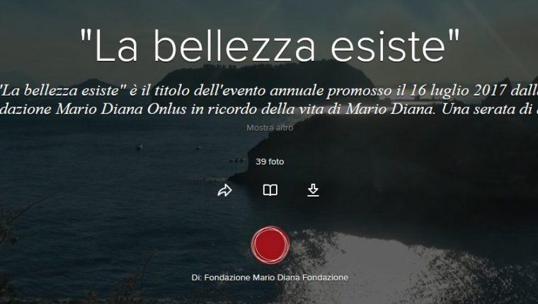 """""""La bellezza esiste"""", memoria&impegno in ricordo di Mario Diana"""
