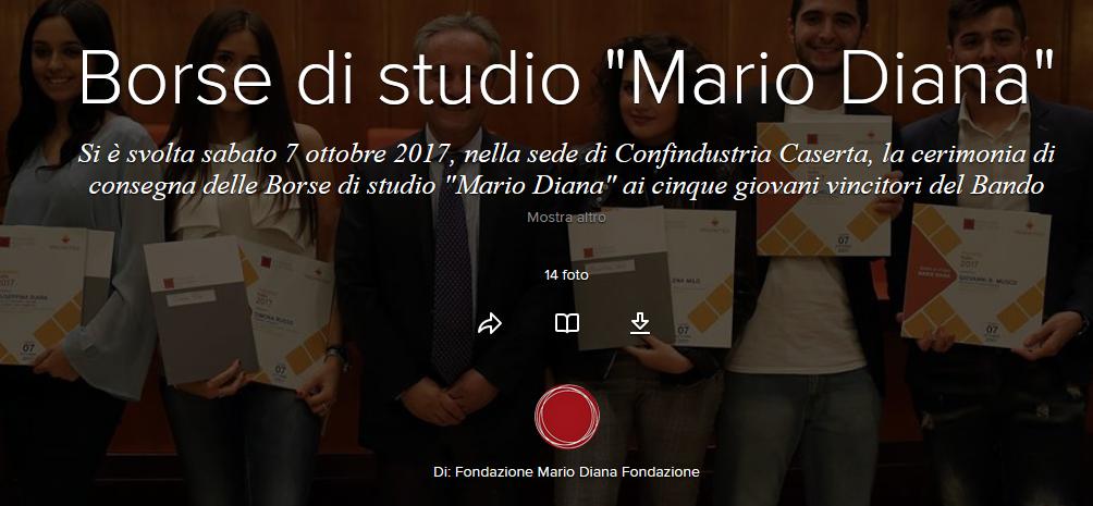 """Borse di studio """"Mario Diana"""""""