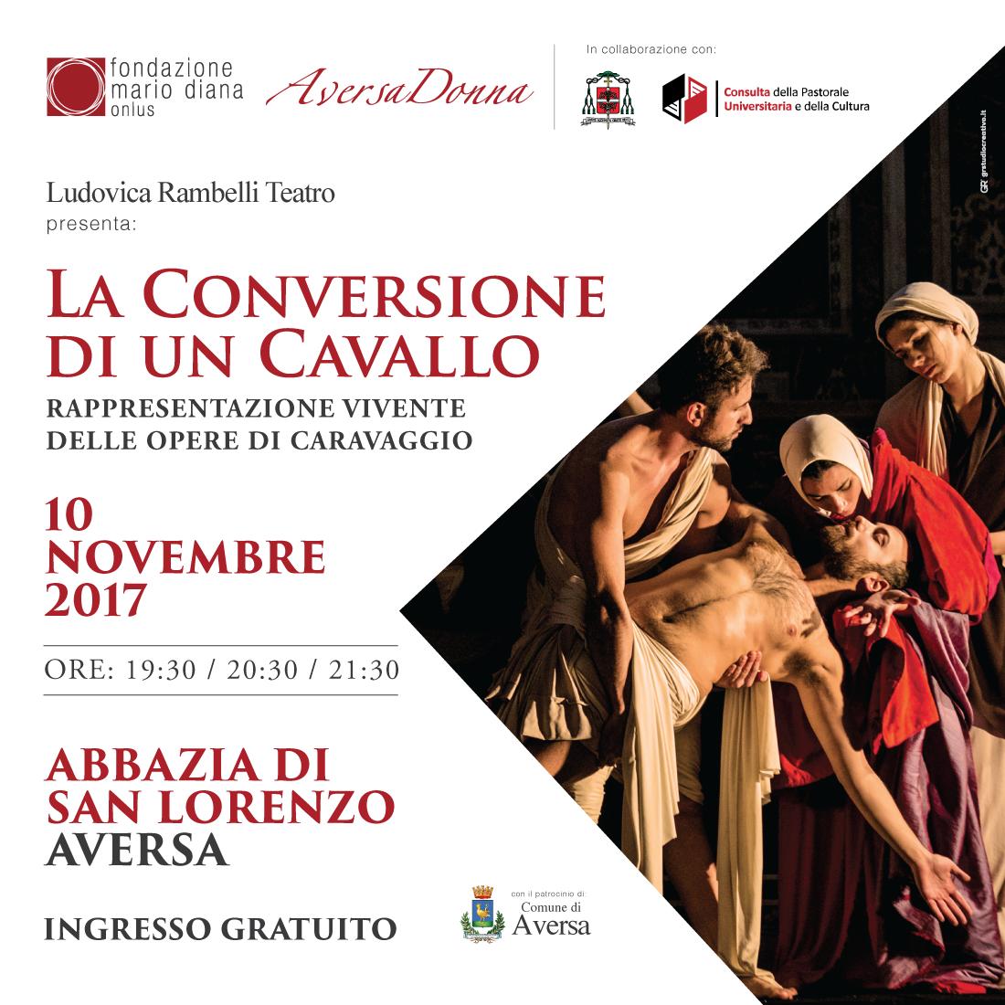 """""""Caravaggio – La Conversione di un Cavallo"""""""