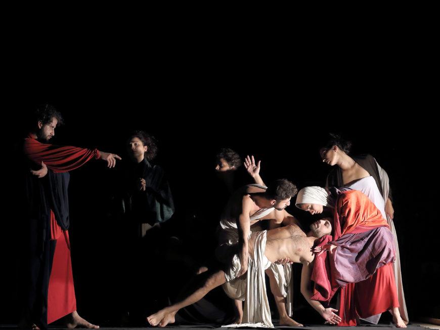 Tableaux Vivants di Caravaggio: la Compagnia Ludovica Rambelli incanta Aversa