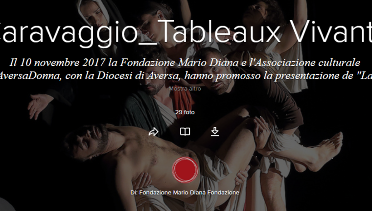 Tableaux Vivants di Caravaggio