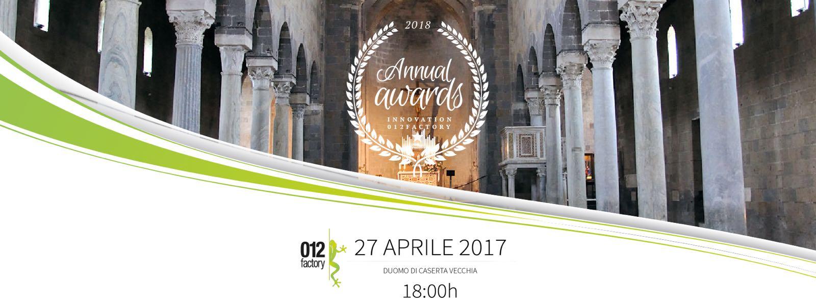 "Premio ""Mario Diana"" Award Innovation 2018"