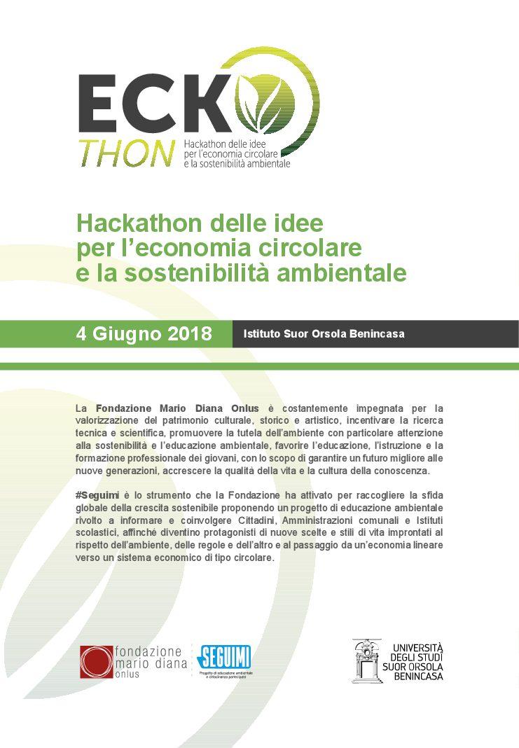 EckoThon, l'Hackathon delle idee al Suor Orsola Benincasa