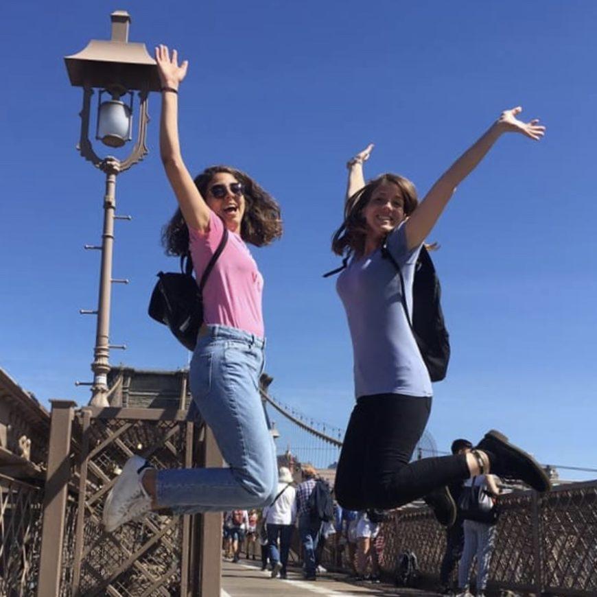 Catarina e Grazia: emozioni da New York