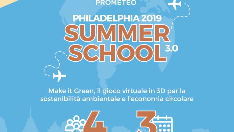 Terza edizione di Prometeo Summer School – Philadelphia 2019
